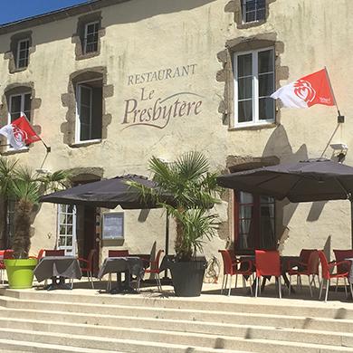 Bienvenue dans notre restaurant le presbyt re for Tiffauges restaurant